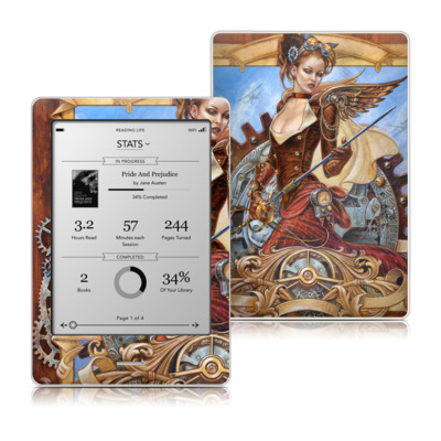 Kobo Touch Skin - Steam Jenny