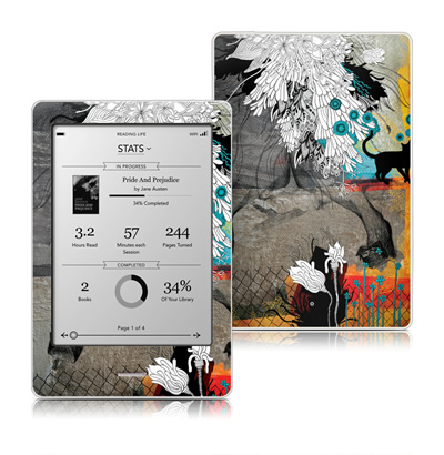 Kobo Touch Skin - Stay Awhile