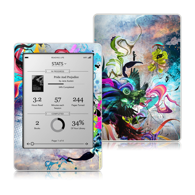 Kobo Touch Skin - Streaming Eye