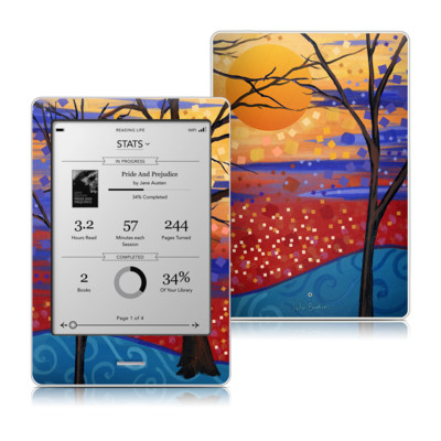 Kobo Touch Skin - Sunset Moon