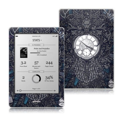 Kobo Touch Skin - Time Travel