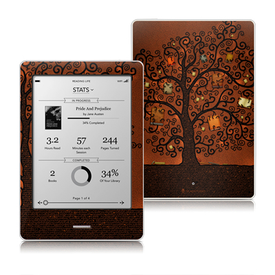 Kobo Touch Skin - Tree Of Books