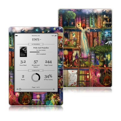 Kobo Touch Skin - Treasure Hunt