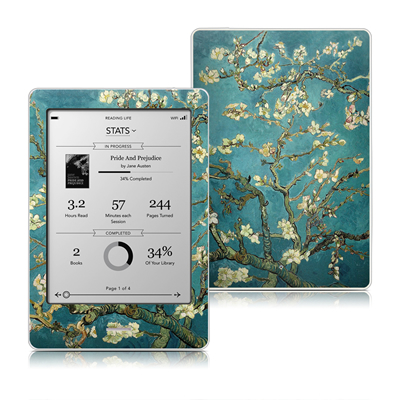 Kobo Touch Skin - Blossoming Almond Tree