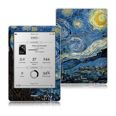 Kobo Touch Skin - Starry Night