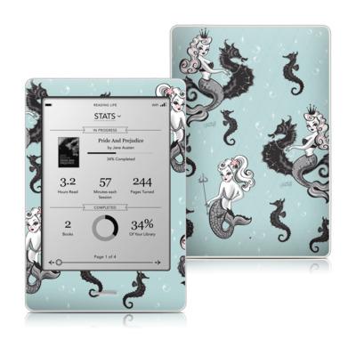 Kobo Touch Skin - Vintage Mermaid