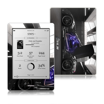 Kobo Touch Skin - Z33 Dark
