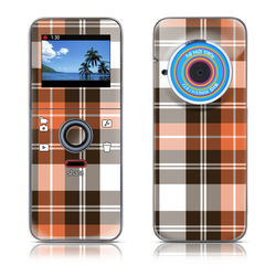 Kodak PLAYFULL Ze1 Skin - Copper Plaid