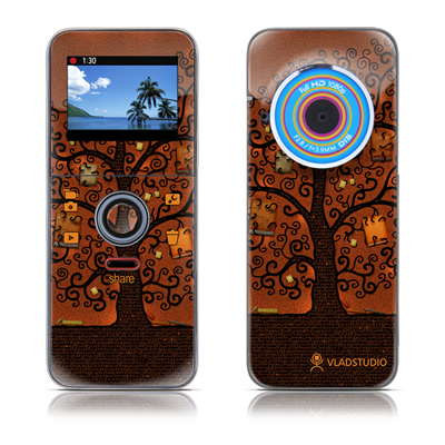 Kodak PLAYFULL Ze1 Skin - Tree Of Books