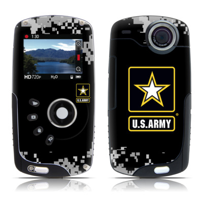 Kodak Playsport Zx3 Skin - Army Pride