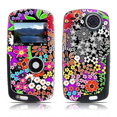 Kodak Playsport Zx3 Skin - A Burst of Color