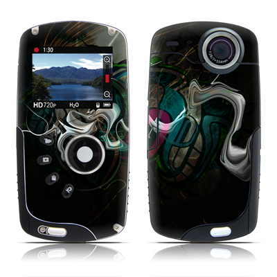 Kodak Playsport Zx3 Skin - Graffstract