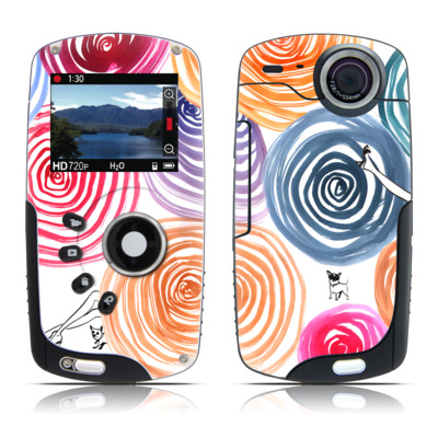 Kodak Playsport Zx3 Skin - New Circle