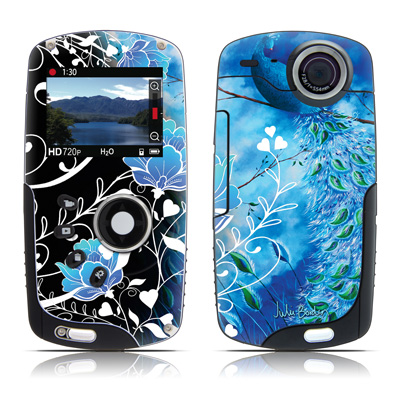 Kodak Playsport Zx3 Skin - Peacock Sky