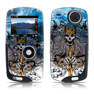 Kodak Playsport Zx3 Skin - Skeleton King