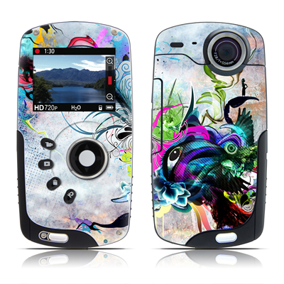 Kodak Playsport Zx3 Skin - Streaming Eye