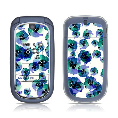 LG VX8360 Skin - Blue Eye Flowers