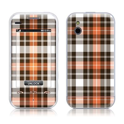 LG Arena Skin - Copper Plaid