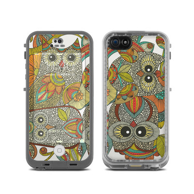 LifeProof iPhone 5C Fre Case Skin - 4 owls