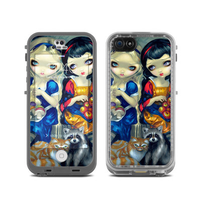 LifeProof iPhone 5C Fre Case Skin - Alice & Snow White