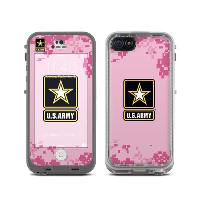 LifeProof iPhone 5C Fre Case Skin - Army Pink