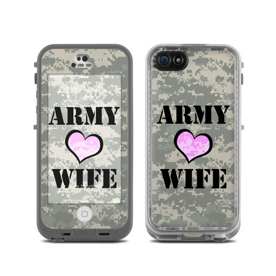 LifeProof iPhone 5C Fre Case Skin - Army Wife