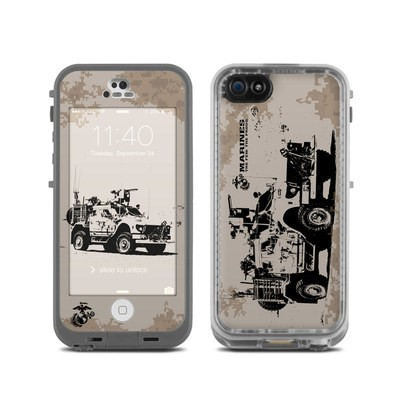 LifeProof iPhone 5C Fre Case Skin - Artillery