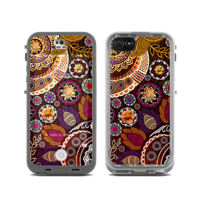 LifeProof iPhone 5C Fre Case Skin - Autumn Mehndi