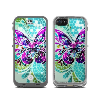 LifeProof iPhone 5C Fre Case Skin - Butterfly Glass