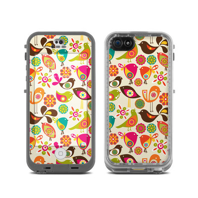 LifeProof iPhone 5C Fre Case Skin - Bird Flowers