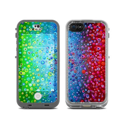 Lifeproof iPhone 5C Fre Case Skin - Bubblicious