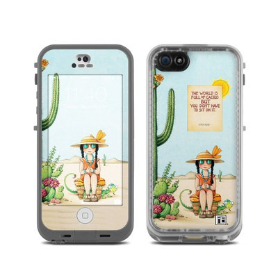 Lifeproof iPhone 5C Fre Case Skin - Cactus