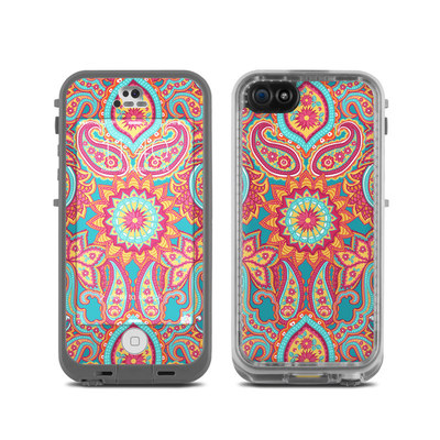 LifeProof iPhone 5C Fre Case Skin - Carnival Paisley