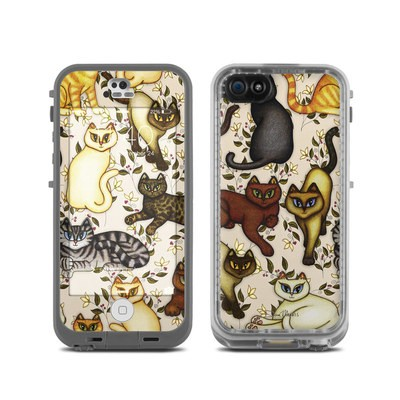 LifeProof iPhone 5C Fre Case Skin - Cats