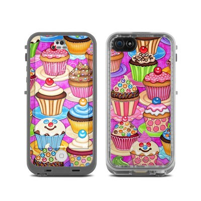LifeProof iPhone 5C Fre Case Skin - Cupcake