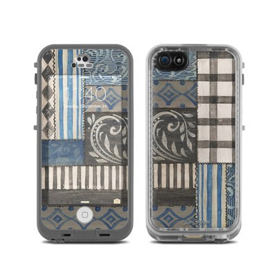 LifeProof iPhone 5C Fre Case Skin - Country Chic Blue