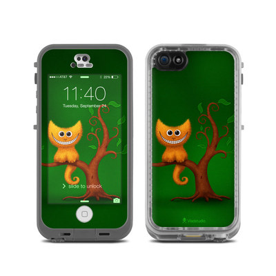 LifeProof iPhone 5C Fre Case Skin - Cheshire Kitten
