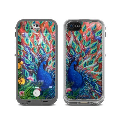 LifeProof iPhone 5C Fre Case Skin - Coral Peacock