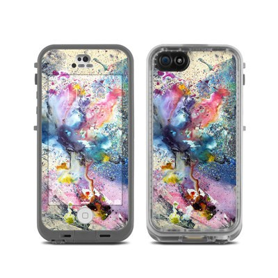 LifeProof iPhone 5C Fre Case Skin - Cosmic Flower