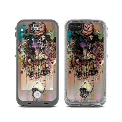 Lifeproof iPhone 5C Fre Case Skin - Doom and Bloom