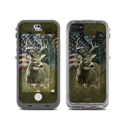 LifeProof iPhone 5C Fre Case Skin - Deer Flag