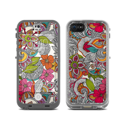 LifeProof iPhone 5C Fre Case Skin - Doodles Color