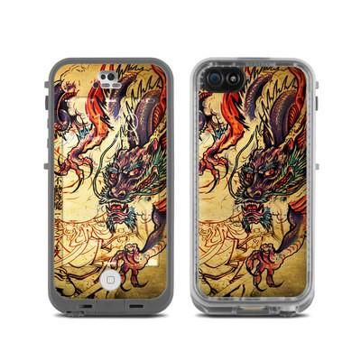 LifeProof iPhone 5C Fre Case Skin - Dragon Legend