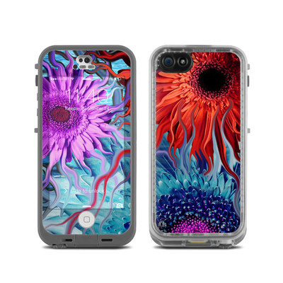LifeProof iPhone 5C Fre Case Skin - Deep Water Daisy Dance