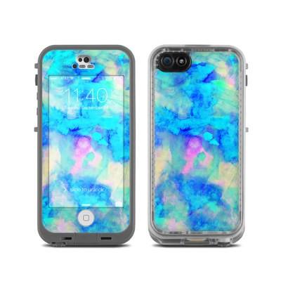 LifeProof iPhone 5C Fre Case Skin - Electrify Ice Blue