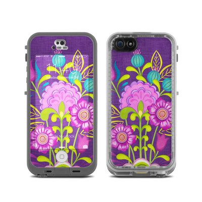 LifeProof iPhone 5C Fre Case Skin - Floral Bouquet