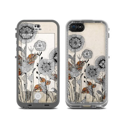 LifeProof iPhone 5C Fre Case Skin - Four Flowers