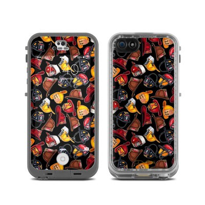Lifeproof iPhone 5C Fre Case Skin - Fire Helmets