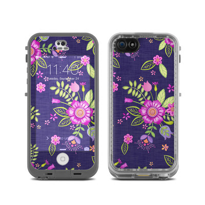 LifeProof iPhone 5C Fre Case Skin - Folk Floral