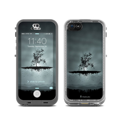 LifeProof iPhone 5C Fre Case Skin - Flying Tree Black